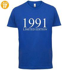 1991 Limierte Auflage / Limited Edition - 26. Geburtstag - Herren T-Shirt -