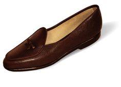Midinette Lizard Calf Velvet Shoe