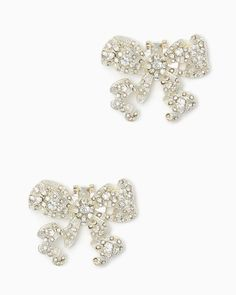 charming charlie | Bowtie Bling Shoe Clips | UPC: 410007088787 #charmingcharlie