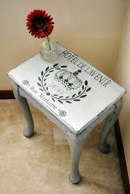 Image result for stencil designed tables