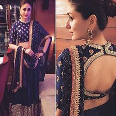 Latest Saree Blouse Designs To Try. Ethnic and cultural wear such as sarees are a trademark of the subcontinent women. Be it embroideries, laces, ribbons, beads or gota; sarees are a gift to the women of the subcontinent from their rich culture. Indian Blouse Designs, Blouse Back Neck Designs, New Saree Blouse Designs, Latest Saree Blouse, Blouse Patterns, Shagun Blouse Designs, Blouse Styles, Lehenga Choli, Shabby Chic
