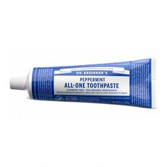 Dr Bronner's Peppermint All-One Toothpaste 140g