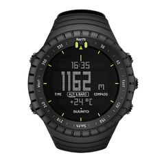 Suunto Core All Black Watch - Altimeter with altitude log memory,Barometer with storm alarm and weather trend indicator, Compass with semi automatic calibration and a digital bearing + Depth meter. Lots of technology on your wrist. $299.00