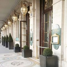 Merci a from - The perfect Sunday in Paris always ends up with a stop right here - 228 rue de Rivoli ✨ - Le Meurice, South Shore Decorating, Hill Interiors, Decks And Porches, Summer Design, Paris Hotels, Beautiful Hotels, Hospitality Design, Monuments
