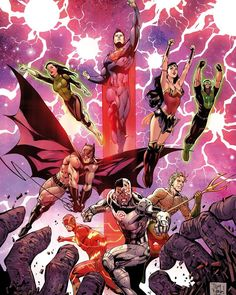 Justice League (Volume 3) 3 Cover. #JusticeLeagueRebirth #JusticeLeague #UniteTheLeague #Superheroes #Superman #ManofSteel #Batman #TheDarkKnight #WonderWoman #DianaPrince #GreenLantern #JessicaCruz #SimonBuz #TheFlash #BarryAllen #Cyborg #VictorStone #Aquaman #ArthurCurry #TheKindred #TheExtinctionMachines #DC #DCComics #Comics #DCU #DCUniverse #ComicBooks #BryanHitch #TonyDaniel #ComicsDune