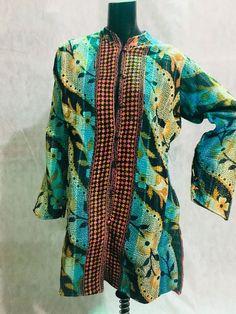 7b107d15064 vintage gudadi cotton Kantha Jacket Reversible Handmade Long Quilted Coat  size M  fashion  women