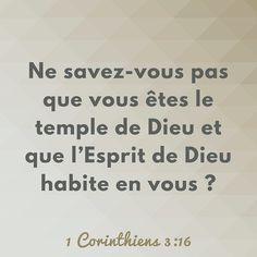 As-tu lu le récit de l'inauguration du #Temple dans 1 Rois 8-9? Quel privilège de savoir que l'Esprit de #Dieu habite désormais en nous! #5jours1roi