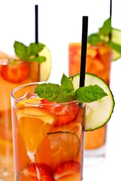 Anyone for Pimms?