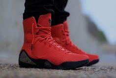 "Nike Kobe 9 EXT KRM ""Challenge Red"" - On-Feet Images - SneakerNews.com"