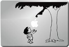 Giving Tree Decal - Vinyl Macbook / Laptop Decal Sticker Graphic
