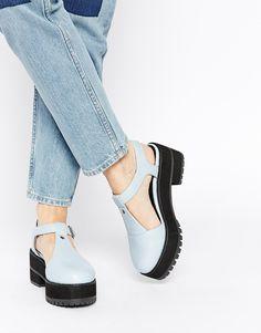 Image 1 of ASOS SUBSCRIPTION T-Bar Heels