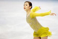 Yuna Kim, South Korea - Ladies Figure Skating 2014 Olympics - Silver Medalist