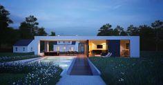 Design Hub - блог о дизайне интерьера и архитектуре: Пристройка в современном стиле к дому 30-х годов