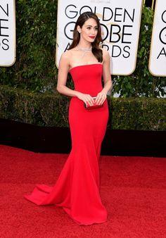 globos de oro 2016 alfombra roja vestidos