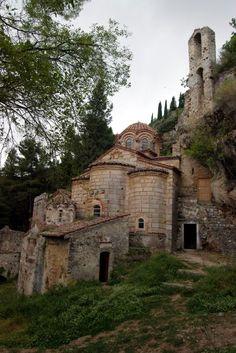 The Peribleptos Monastery (Greek: Μονή Παναγίας Περιβλέπτου) is a late Byzantine-era monastery in Mystras, Greece.