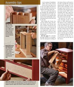 Build Drawers - Drawer Construction