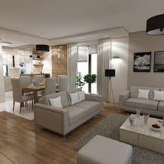 Living Room And Dining Room Together, Cozy Living Rooms, Living Room Decor, Living Room Turquoise, Living Room Tv Unit Designs, Modern Loft, Modern Bedroom Design, Dream Bedroom, House Design