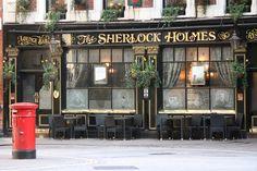 THE SHERLOCK HOLMES (Bar and Restaurant)  London, England