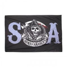 Sons of Anarchy Logo Banner