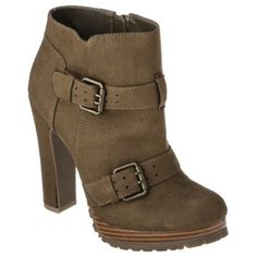 Women's Mossimo® Keisa Heeled Ankle Boot - Assorted Colors    Gorgeous and reasonably priced! $34.99
