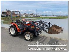 UsedJapaneseTractors.jp : KUBOTA A175 4WD W/FL Alibata, Rc Tractors, Kubota, Outdoor Power Equipment, Monster Trucks, Tractor, Garden Tools