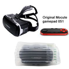 VR Shinecon 2.0 ii 3D VR Glasses Virtual Reality Headset for 4.7-6' Mobile + Mocute Controller