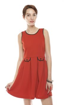 Darling red dress