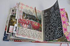 Art journal. Smash book.