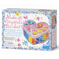 Make A Crystal Trinket Box is ideal for kids who love arts and crafts.