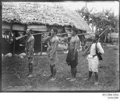 One morning, Lauli'i and other girls from her family crept to the war camp – bullets whizzing over their heads – to take food to their fathers.