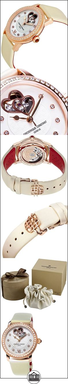 Frederique Constant World Heart Federation Rose Gold Plated Womens Watch FC-310WHF2PD4  ✿ Relojes para mujer - (Lujo) ✿