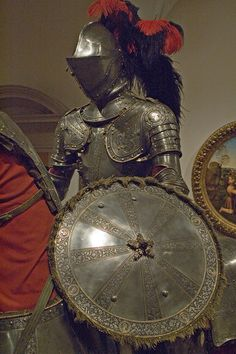 European Armor - c1515 Italian Horsemans Armor Shield by jondresner, via Flickr