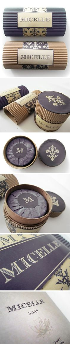 Packaging // Micelle // Soap by Maurizio Pagnozzi, via Behance PD