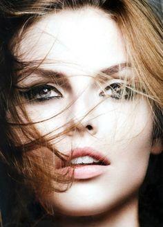 Karlina Caune Shines in Dior Magazine F/W 2013 by Ben Hassett//