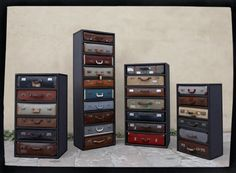 suitcase drawers designed by ©James Plumb