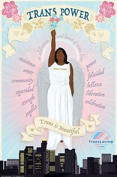 Trans Artists Made These Stunning Posters For Trans Day Of Remembrance
