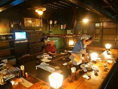 炉ばた - 内観写真:帰るころには、お客さんほとんどいなくなってました(^^;
