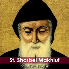St. #Sharbel Makhluf, a priest and hermit, has been called the second St. Anthony of the desert. Join the @cathapostlectr in commemorating him today! #saint #FeastDay #Catholic