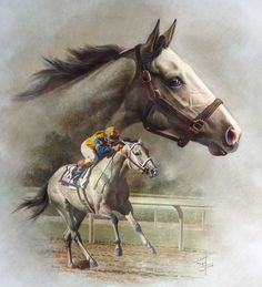 Lady's Secret, 1986 Horse of the Year and Champion Older Mare, she was one of Secretariat's most successful runners, like Terlingua, General Assembly, Kingston Rule, Risen Star and Tinners Way.  Lady's Secret's dam was Great Lady M., a daughter of Icecapade.