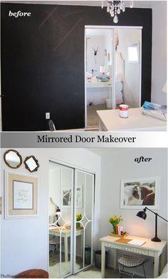 94 Best Mirrored Closet Doors Images Mirror Closet Doors