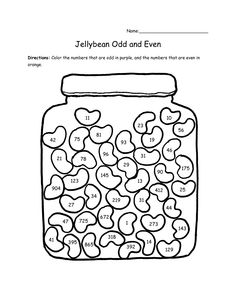 odd and even worksheets | odd and even Colouring Pages