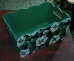 Cajón de 13x23x12cm varios estilos y colores $170