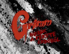 """Check out new work on my @Behance portfolio: """"Grimm - Album Cover"""" http://be.net/gallery/61581067/Grimm-Album-Cover"""