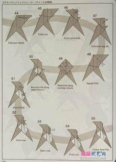 origami pterodactyl 6