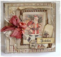 Mintun askartelujutut: Joulukortti:)/Christmas Card