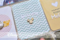 A Vegas Girl at Heart: Disney Project Life Album - Title Page
