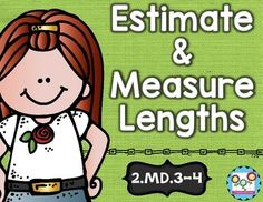 Estimating and Measure Lengths Math Tasks and Exit Tickets - Your 2nd grade classroom or homeschool students will be estimation and measuring pros when you use the 5 math tasks, 10 exit tickets, and I can statements in this resource! These are great for activities, math centers or stations, and assessment! Students will understand length using inches, feet, centimeters, and meters - plus they'll be able to determine which object is longer than the other! 2.MD.3 and 2.MD.4 {second grader} $