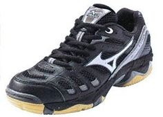 Mizuno Women's Wave Rally 2 Volleyball Shoes Black & Silver:Amazon:Sports & Outdoors