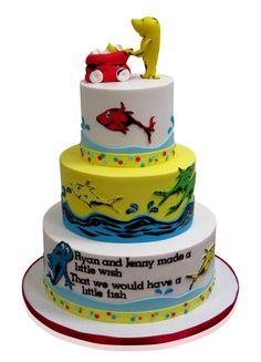 Dr Seuss Baby Shower Cake - CMNY Cakes