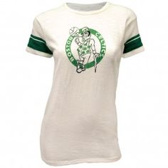 47 Brand Celtics Womens Lucky Game Time T-shirt [White]